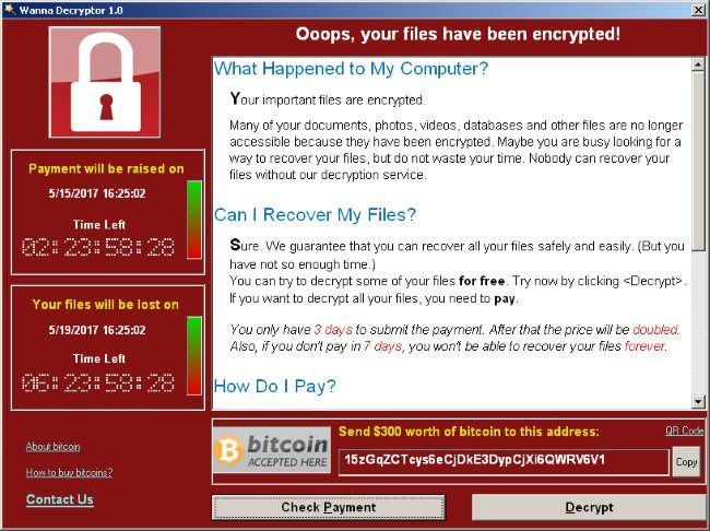 Statement regarding 'WannaCry' Ransomware